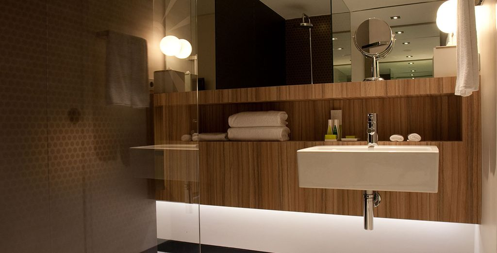 Where you're sure to be treated to luxury amenities...