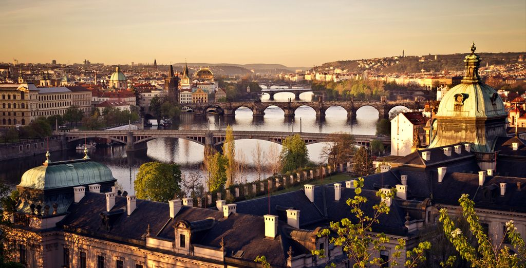 Enjoy the rich history of this magical city - beautiful in any season