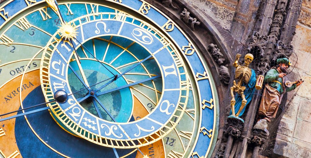 To the medieval astronomical clock