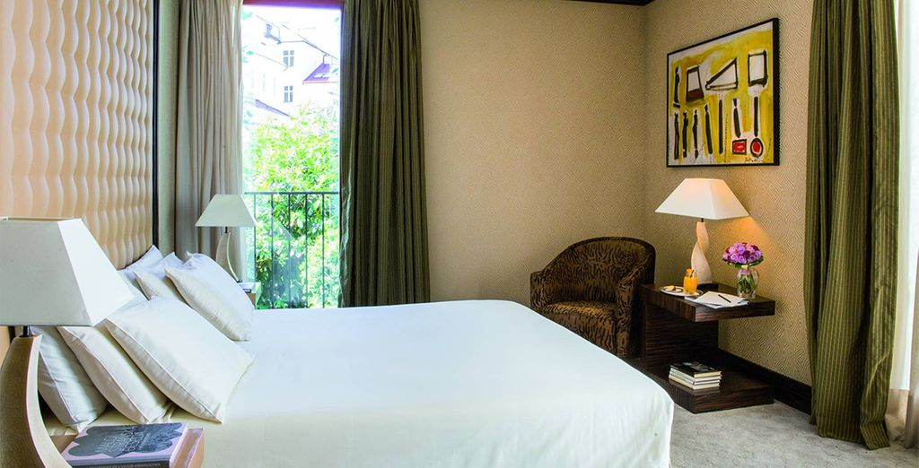 Where our members will be upgraded to a Superior Room