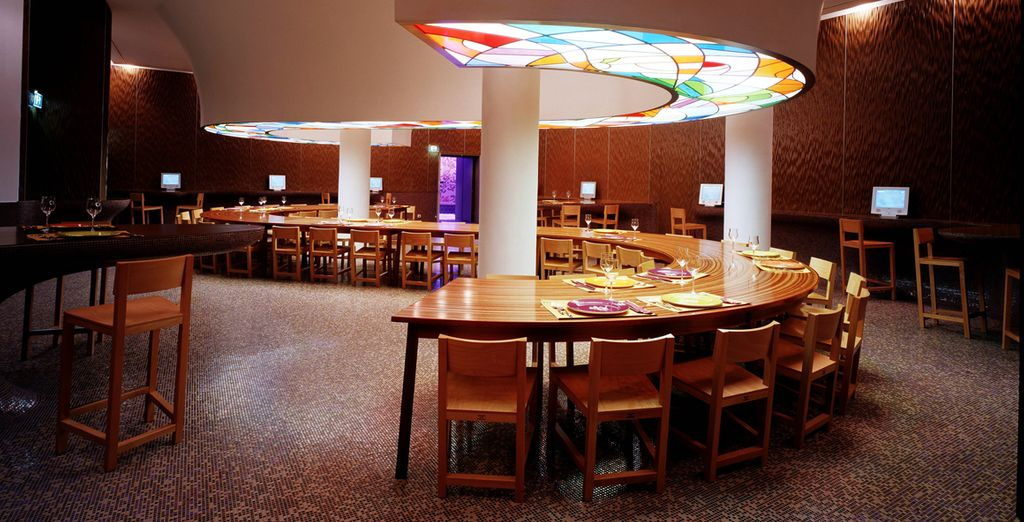 In the evening, you can enjoy an exclusive discount at the hotel's restaurant