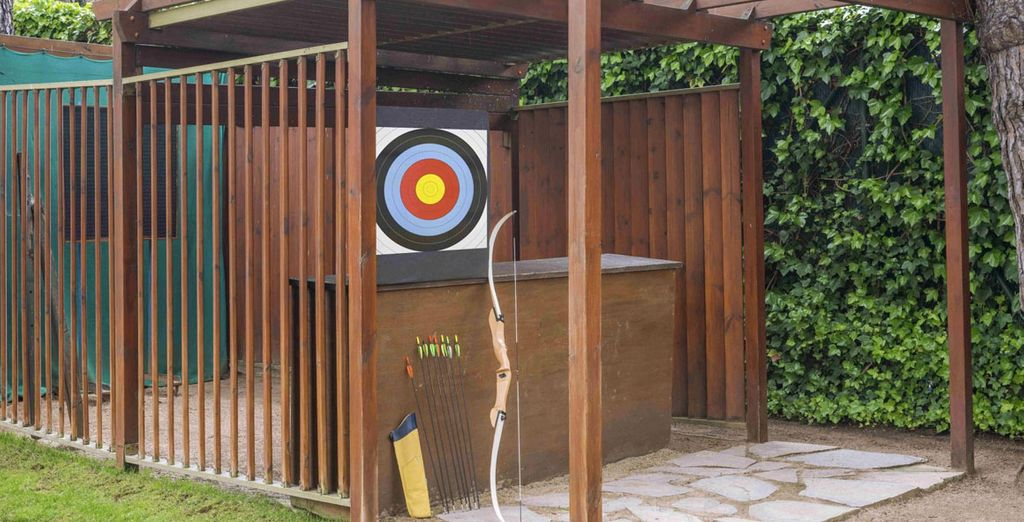 Perhaps even a spot of archery!