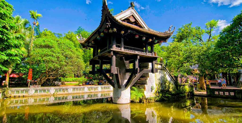 See iconic and historic Buddhist temples