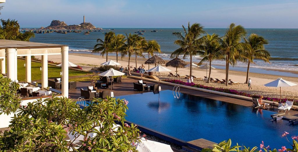 End your adventure on the beaches of Phan Thiet