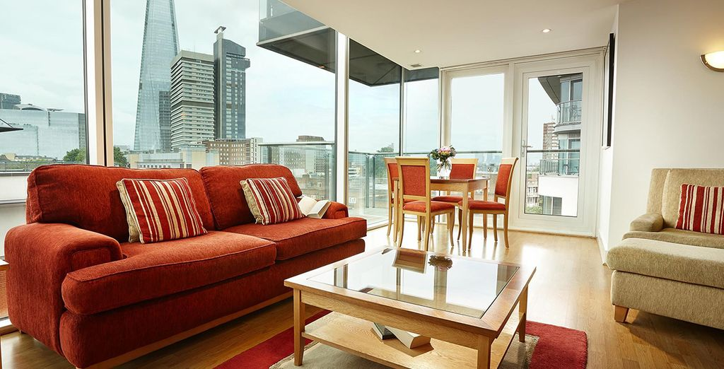 Enjoy a comfortable space in one of the world's most exciting cities