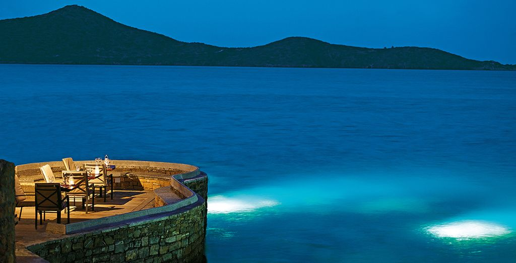 Dine in style at Elounda Peninsula All Suite Hotel