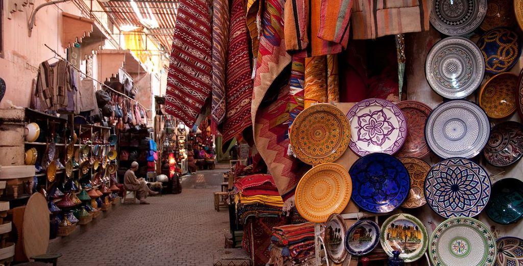 Explore the city of Marrakech
