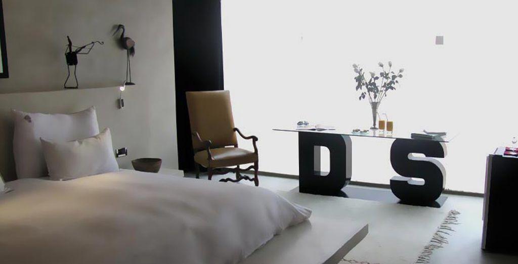 From minimalist, zen-like splendour