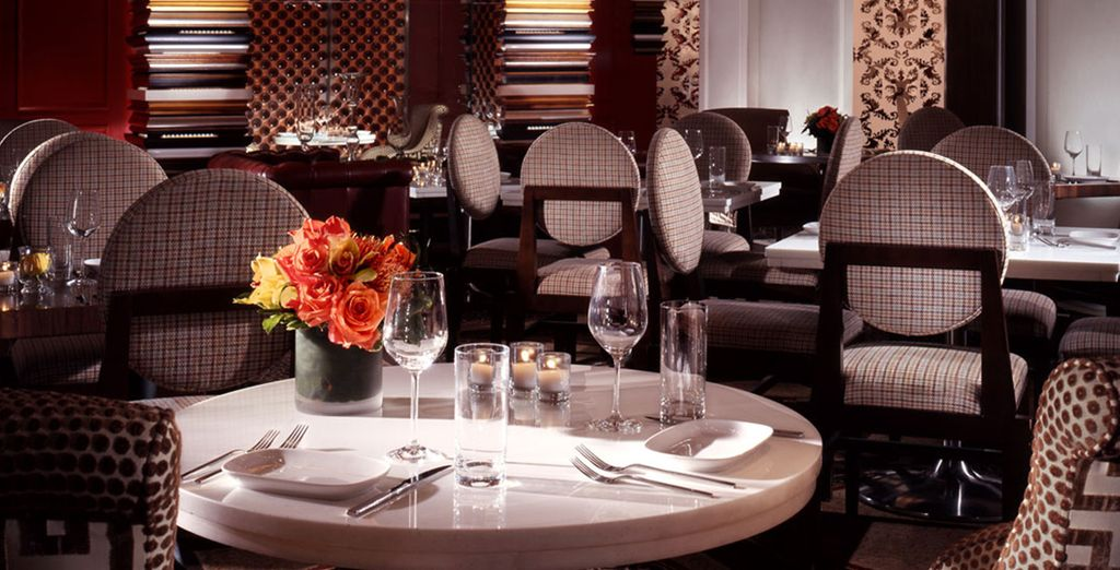 For an intimate dinner and drinks