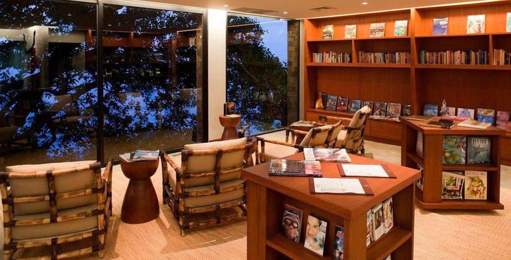 The resort boasts pleasing interiors