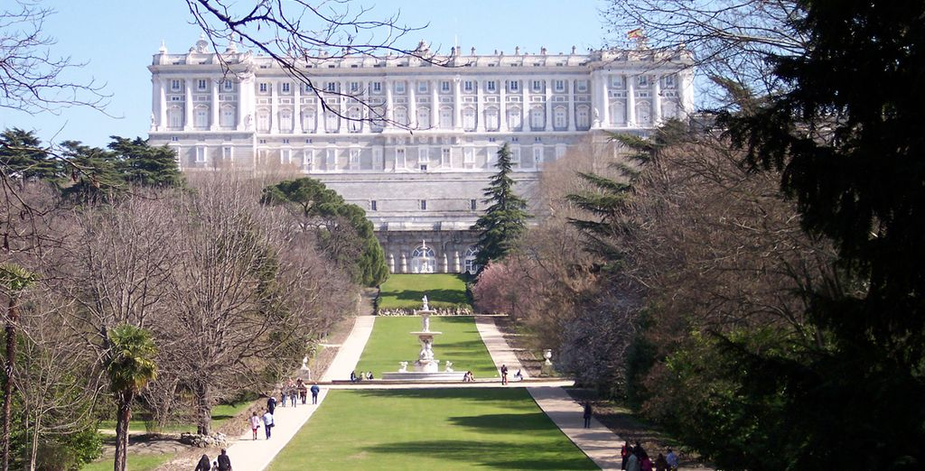 Head out to explore Madrid