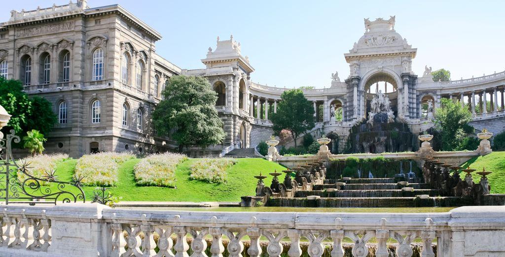To grand palaces... (Palais Longchamp)