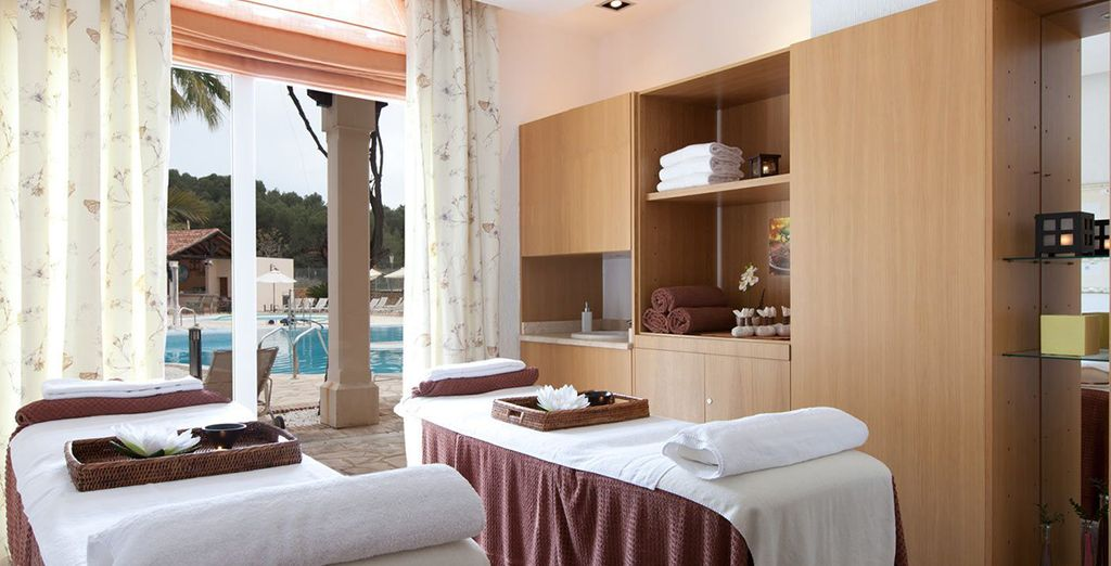 Or unwind at the spa...