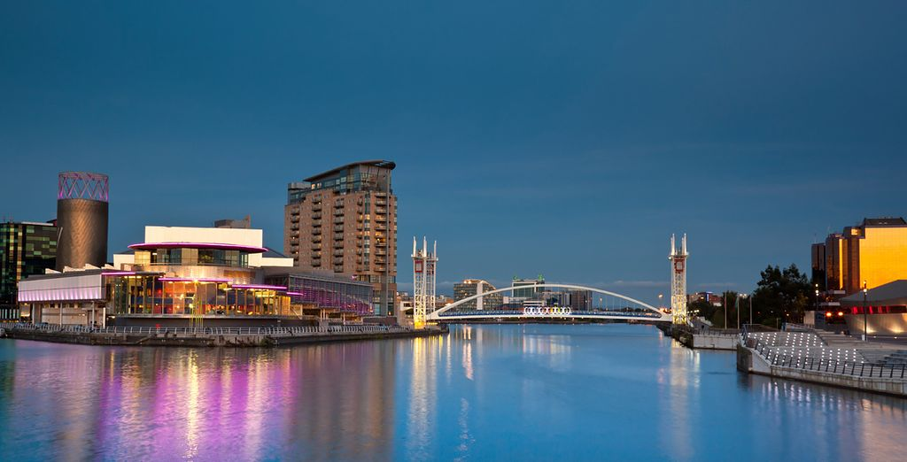 And being right on the edge of Salford, you are perfectly positioned to explore this area