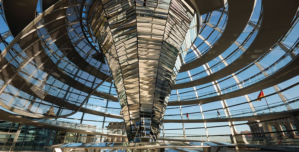 Visit iconic sights such as the Reichstag