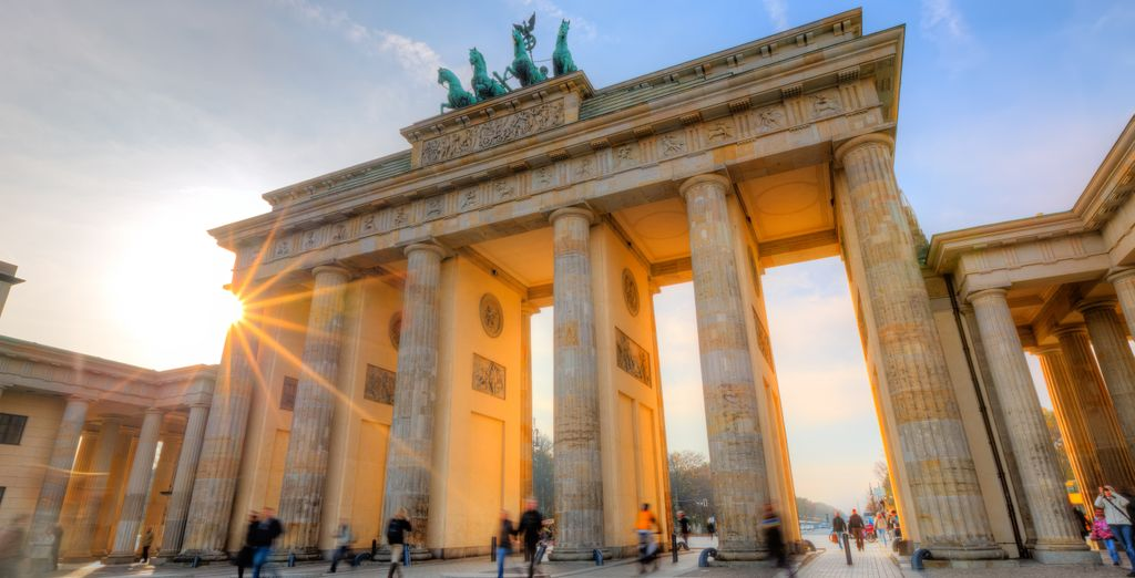 And the Brandenberg Gate