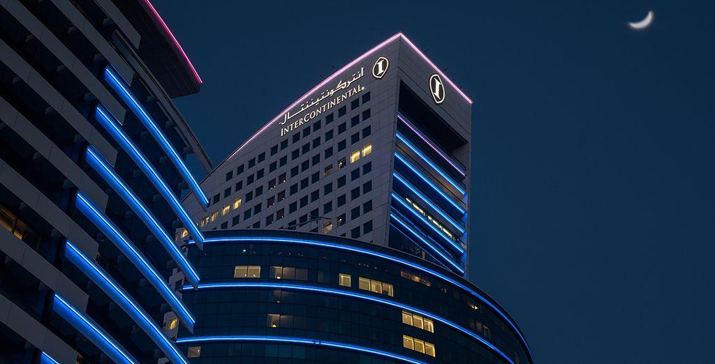 At this 5* InterContinental Hotel
