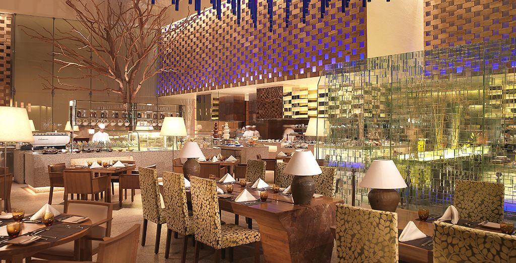 Fine dining restaurants...