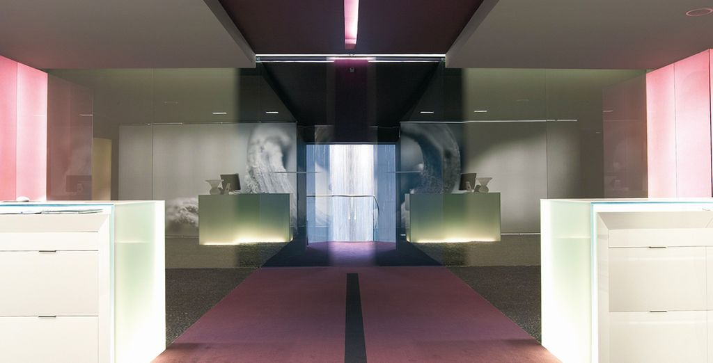 Offering striking modern interiors