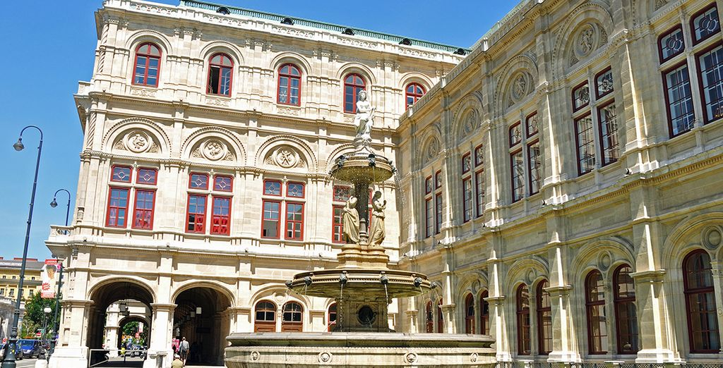 Then set out to explore the grand Austrian capital