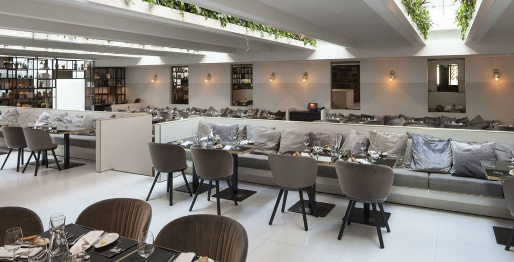 Taste the culinary delights of Vienna at hotel's restaurant YOU