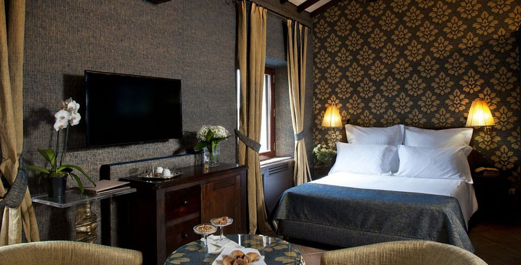 Stay in a wonderful classic room