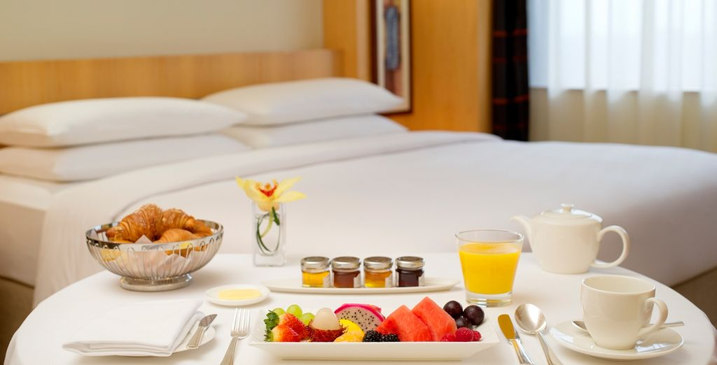 Wake up to a delicious daily breakfast