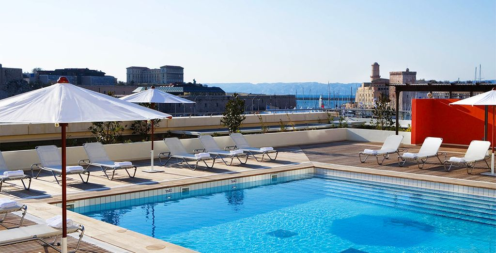 A fantastic hotel overlooking the city's picturesque Vieux Port