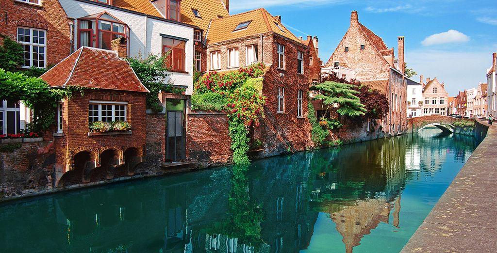 Visit the fairytale city of Bruges - Hotel Prinsenhof 4* Bruges