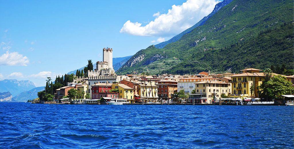 Visit Lake Garda 3KM, away from your hotel