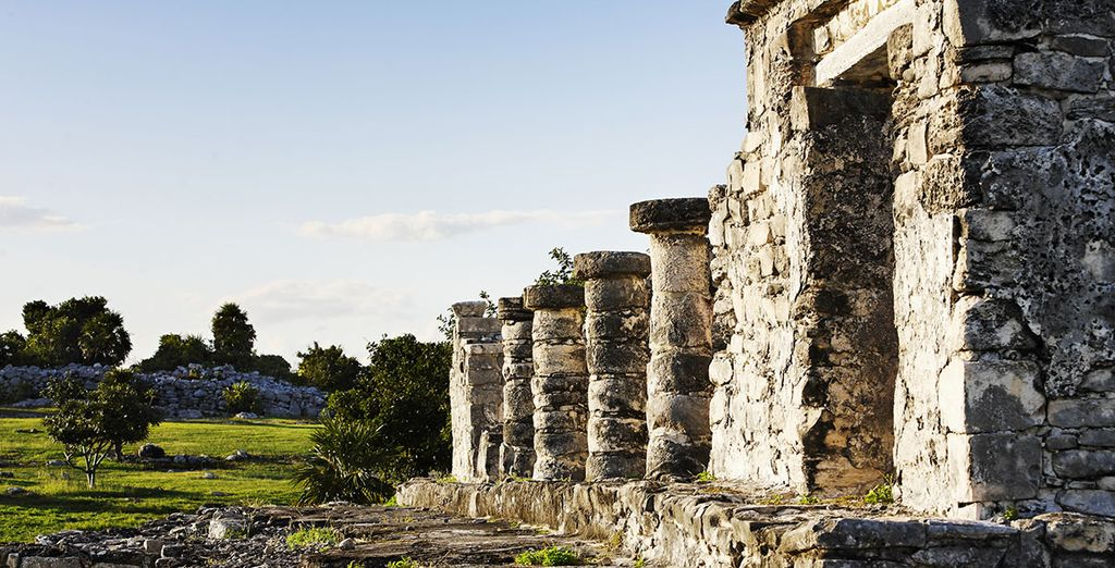 Or discovering the incredible Mayan civilization
