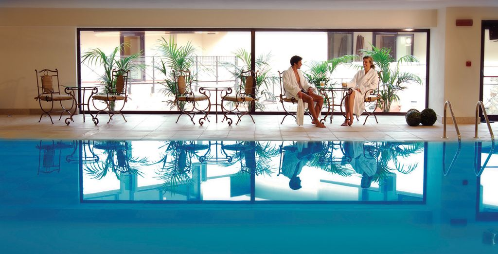 Have a dip in the indoor pool