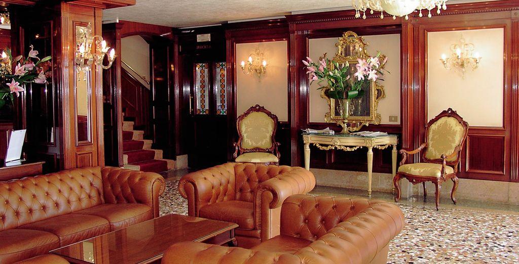 Where grand interiors welcome you...