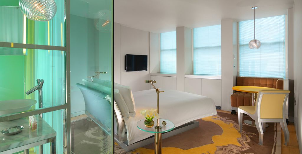Immaculately designed rooms for your pleasure - Sanderson, A Morgans Hotel 5* London