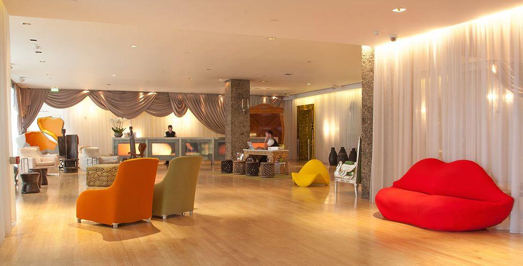 In this landmark 50s design hotel