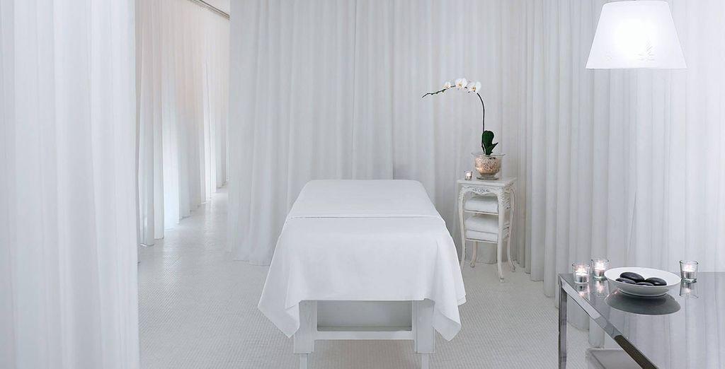 And a sleek luxury spa