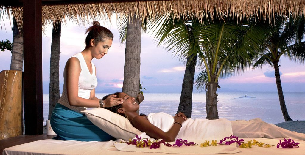 Soothe your aching muscles with a sensual spa treatment