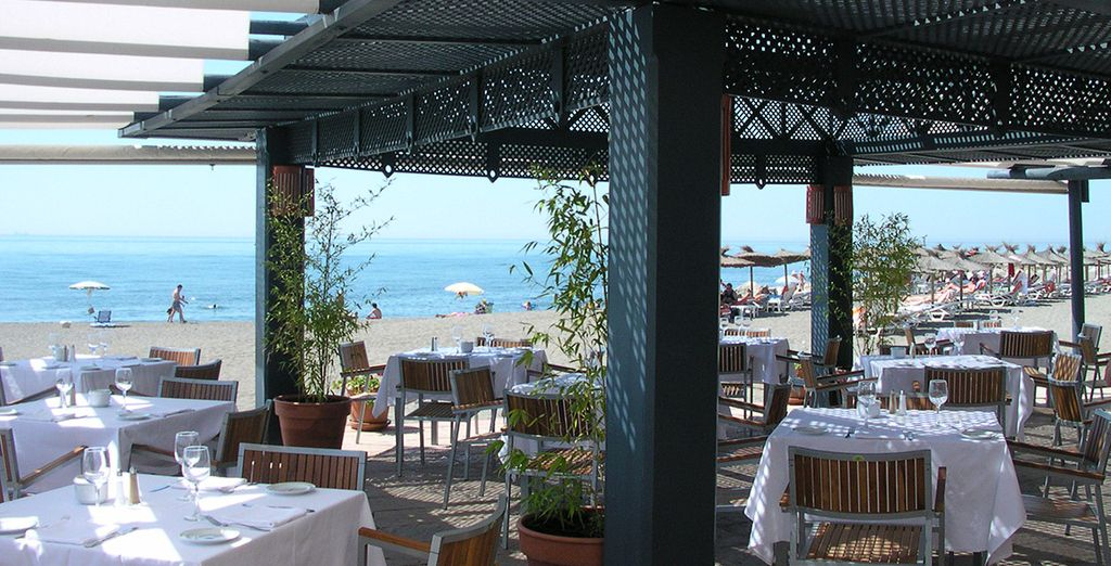 You will find a varied cuisine in its four restaurants Cocoa