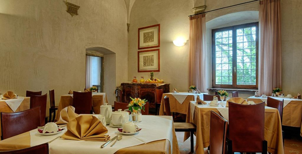 Enjoy Tuscan wine and cuisine at Il Cardinale