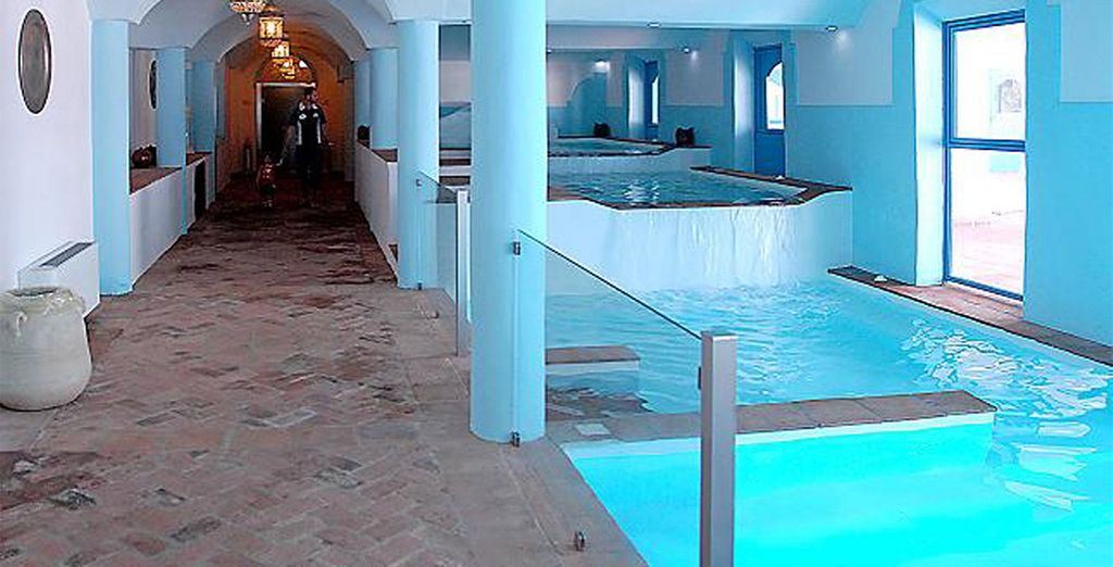 Where you can also use the spa facilities