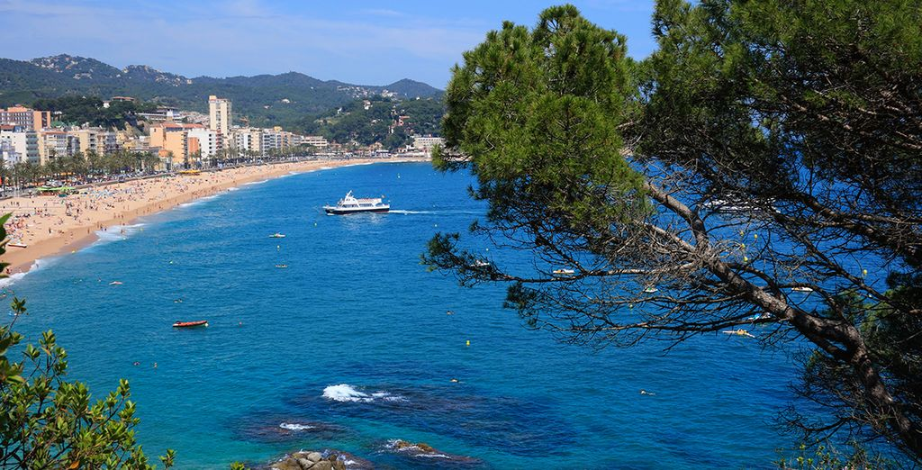 10 minutes walk from the beach in Lloret de Mar