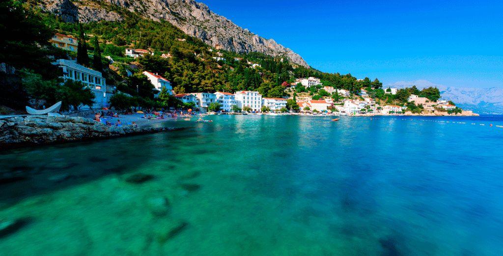 Enjoy the beautiful beaches of the Croatian coast