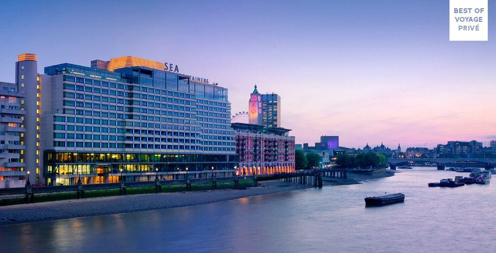 Seductive design on the edge of the River Thames - Mondrian Hotel London 5* London