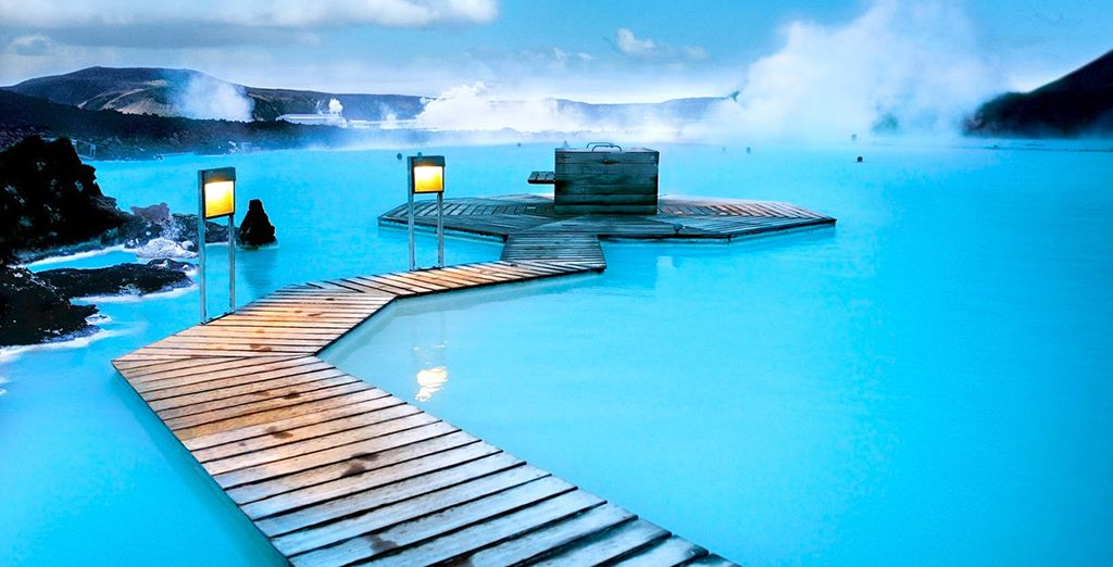 And bathe in the steamy Blue Lagoon