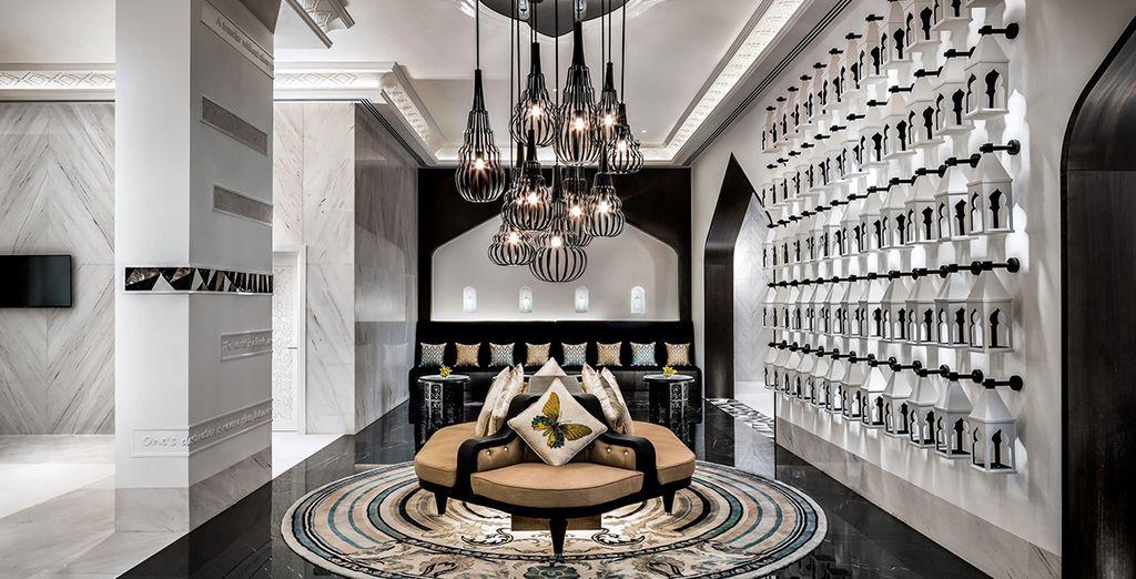 Where sleek, sophisticated interiors...