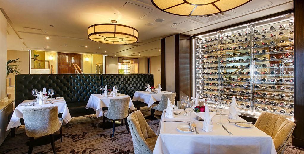 Or dine in the elegant Pavilion Grill