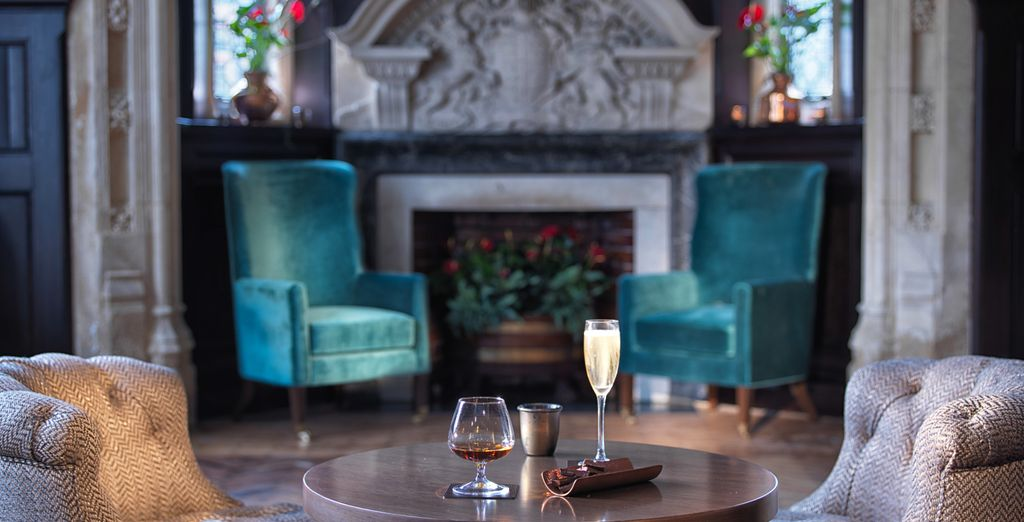And relax in elegant surroundings