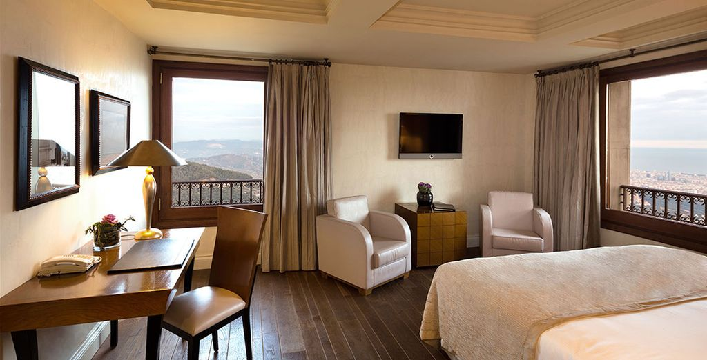 Stay in an upgraded Mountain Deluxe Room