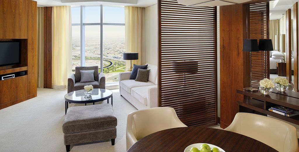 Where you can enjoy a spacious Corner Suite