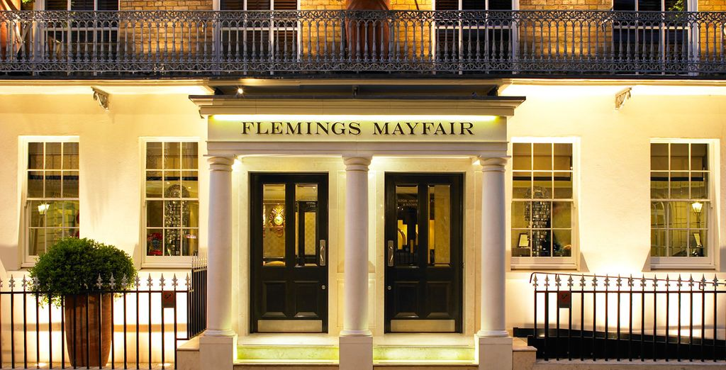 In The Heart Of Mayfair Lies The 4* Flemings Hotel